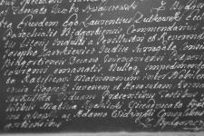 1755-02-05 Rychlicki Maciej, świadkiem, akt ślubu
