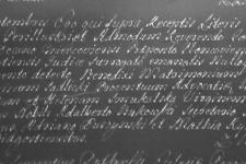 1755-09-09 Rychlicki Maciej, świadkiem, akt ślubu
