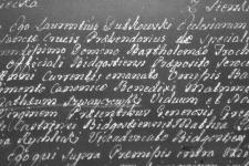 1762-02-19 Rychlicki Maciej, świadkiem, akt ślubu