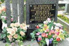 Teodozja Rychlicka (? – 1996),  Wincenty Rychlicki (? – 2005), Józef, Julian, Michalina, ?