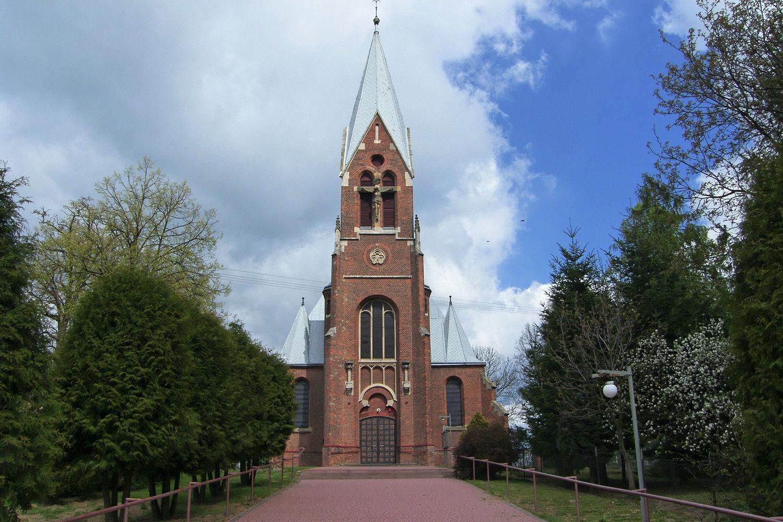 Laszki – kościół p.w. Św. Zofii i Św. Szczepana.