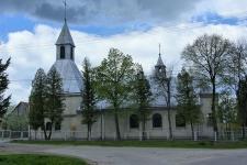 Miękisz Stary – kościół p.w. Matki Bożej Częstochowskiej.