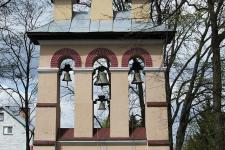 Miękisz Nowy – kościół p.w. Matki Bożej Śnieżnej.