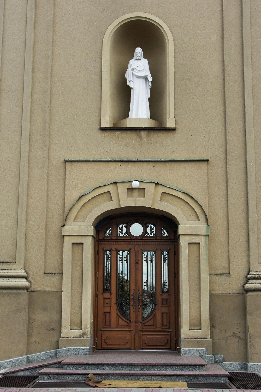 Raniżów, kościół p.w. Wniebowzięcia Najświętszej Maryi Panny.