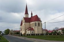 Wola Raniżowska, kościół p.w. Św. Wojciecha.